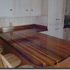 Different Types Of Kitchen Countertops Cedar Cabinets Reclaimed-wood-countertops | You Will Have Dozens ...