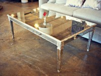 Mirror/Antique Wood Coffee Table | $1,955 1181-4107 ...