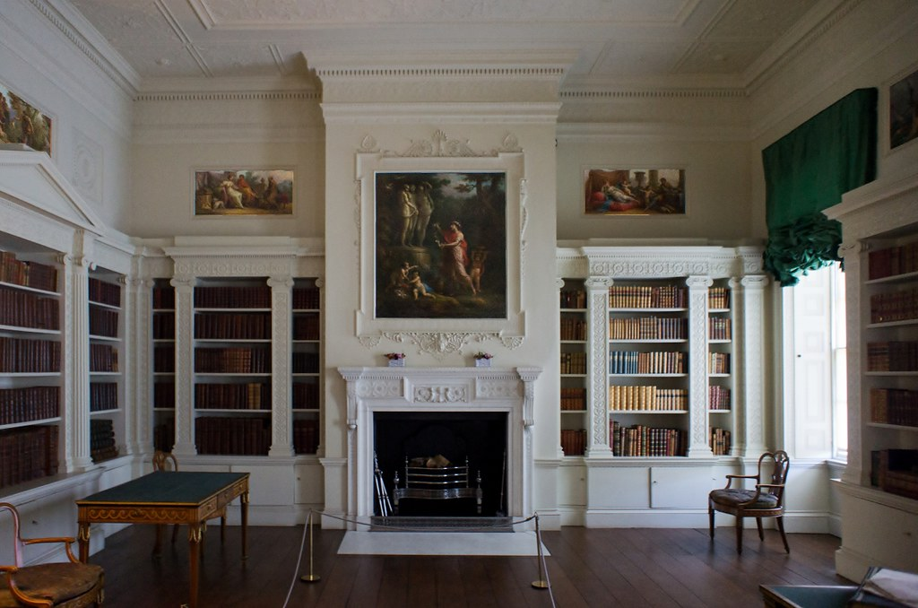 The Library in Osterley House  Maxwell Hamilton  Flickr