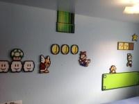 Full super Mario bros 3 wall pixel art | Jason M | Flickr
