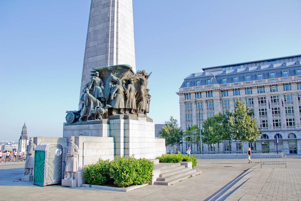 Belgique  Bruxelles  Monument  lInfanterie belge  Flickr