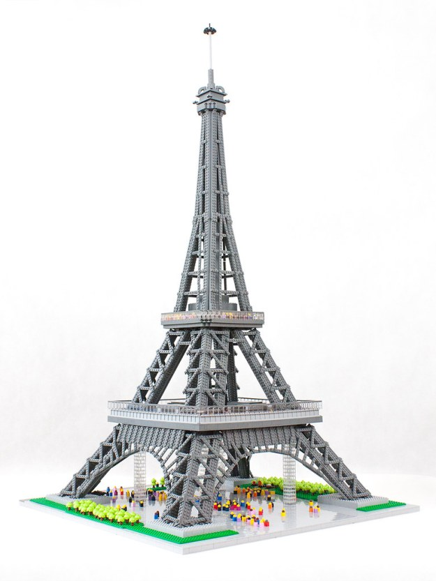 Incredible Lego Eiffel Tower Stands Over Four Feet Tall The