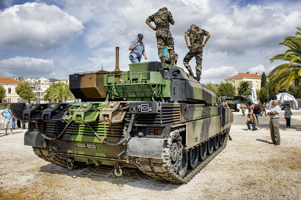 AMX Leclerc French Army  During the open days 2012 of the