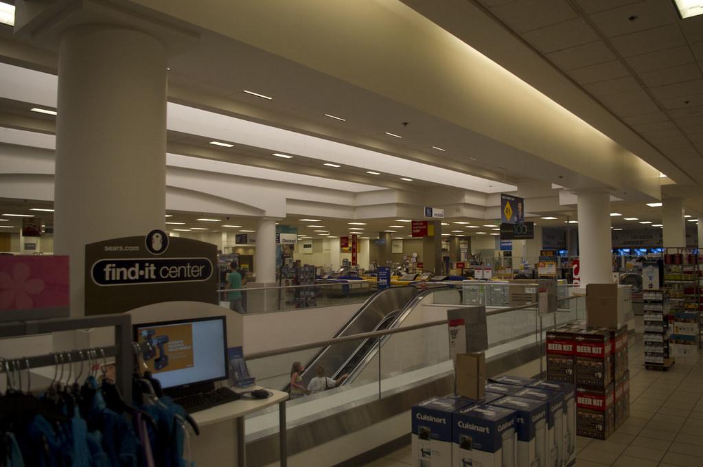Sears Oakridge Mall San Jose California   Interior of ...