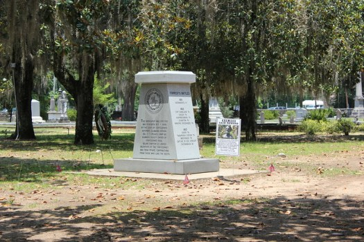 Forrest Monument, Before and After