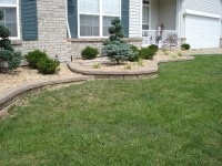Front Yard Retaining Walls & Landscaping   Flickr - Photo ...