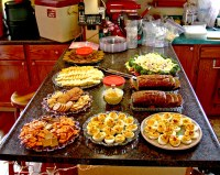 baby shower food | We had snacks laid out for the shower ...