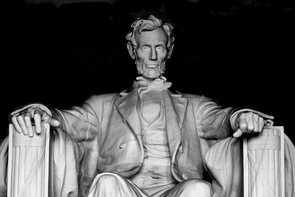 Abraham Lincoln  Lincoln Memorial Washington DC