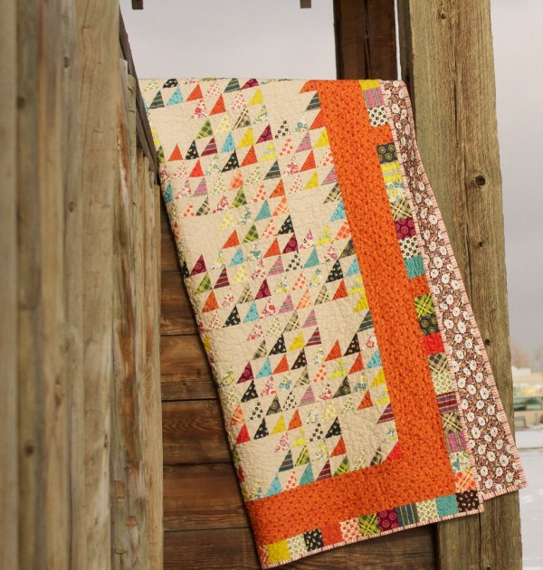 Chicopee Trails Quilt With Fabric Denyse