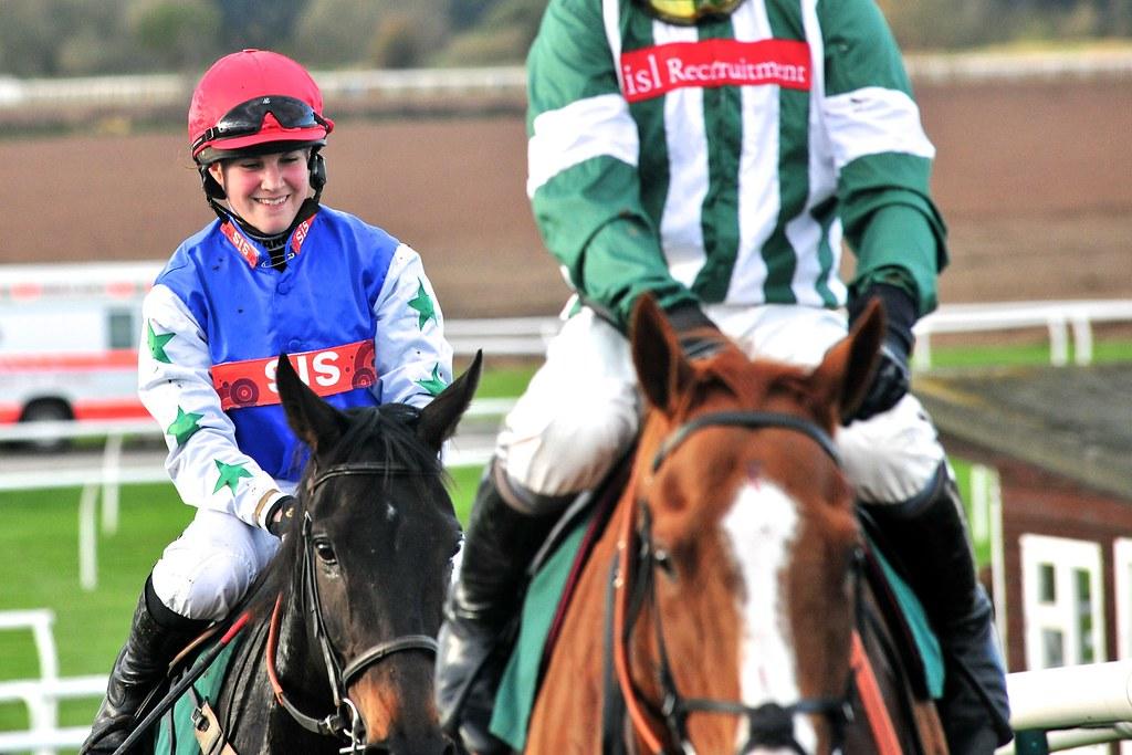 Lucy Alexander Female National Hunt Jockey Lucy Is