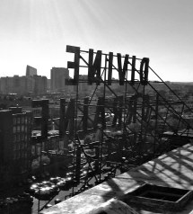 Roof Of Divine Lorraine Hotel In