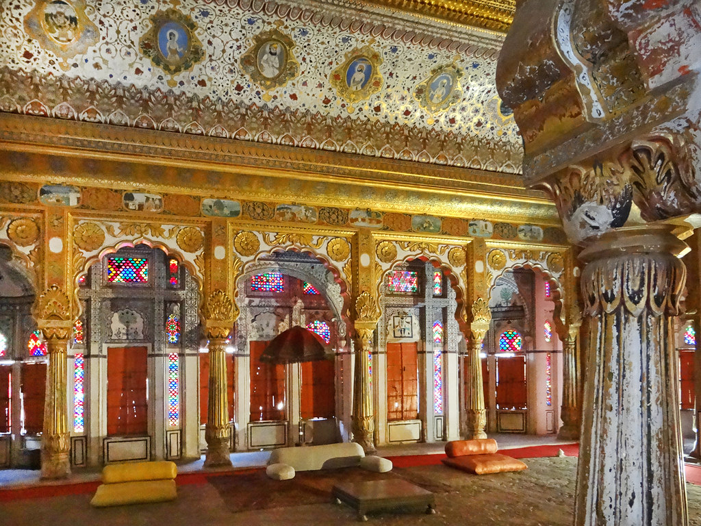 Salle daudience du Palais Fort Meherangarh Jodhpur  Flickr