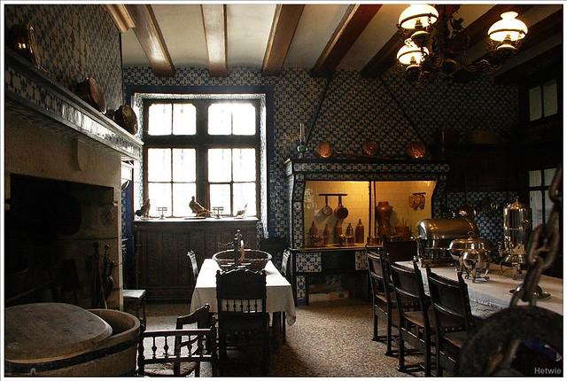Keuken Chateau Keriolet, Finistere Frankrijk