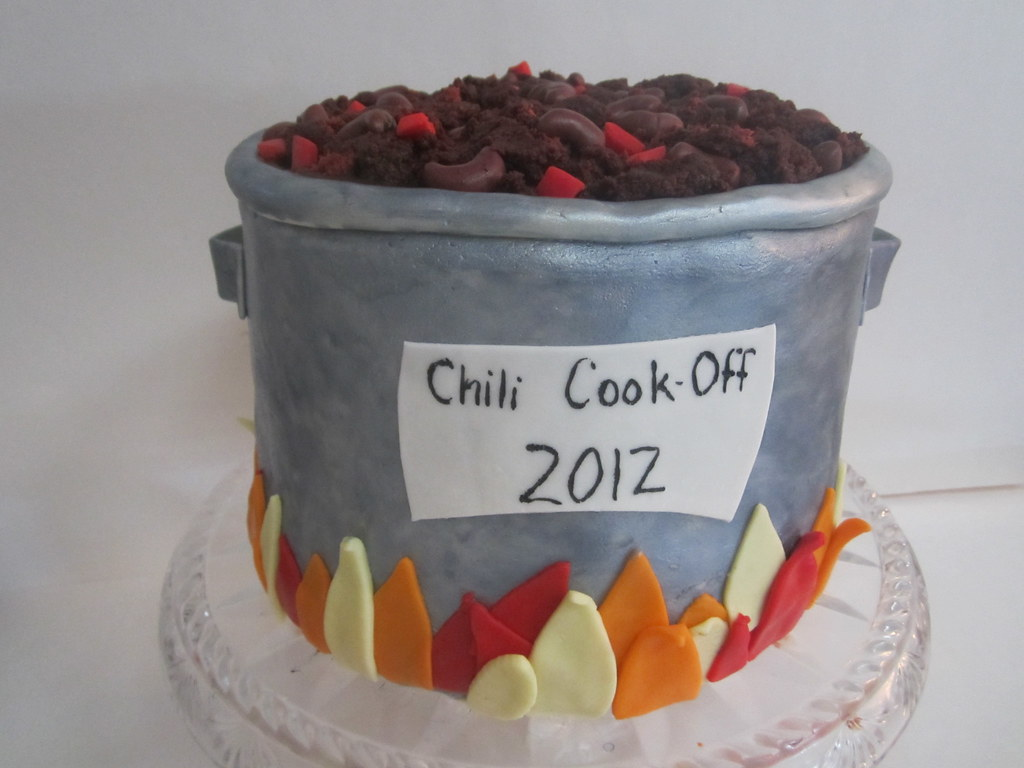 Chili CookOff Cake 2012  What says Fall is here better t  Flickr