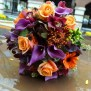 Fall Bridal Bouquet Assorted Flowers In Different