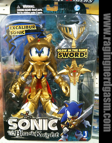 sword and the black knight excalibur sonic