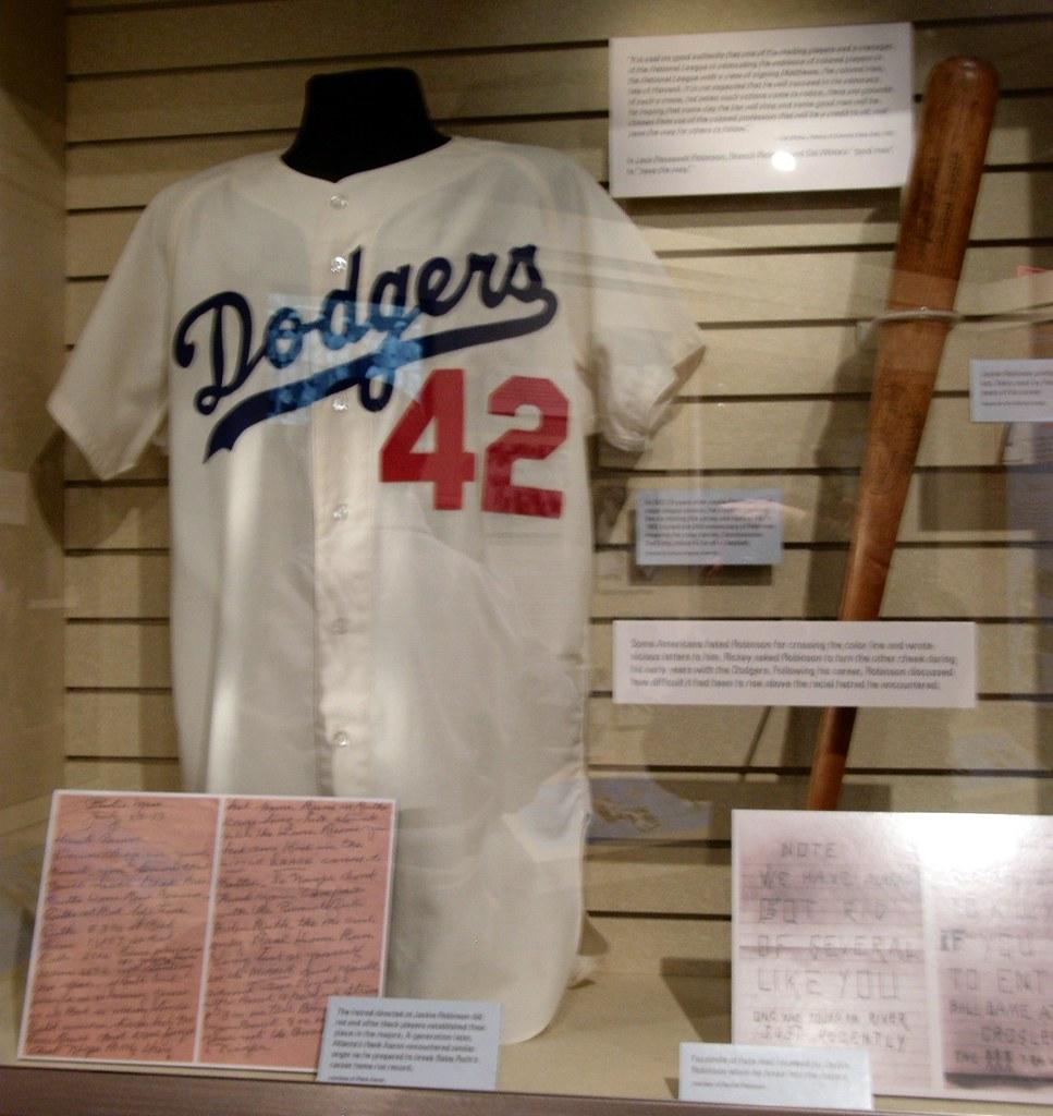 National Baseball Hall Of Fame Jackie Robinson Jersey And