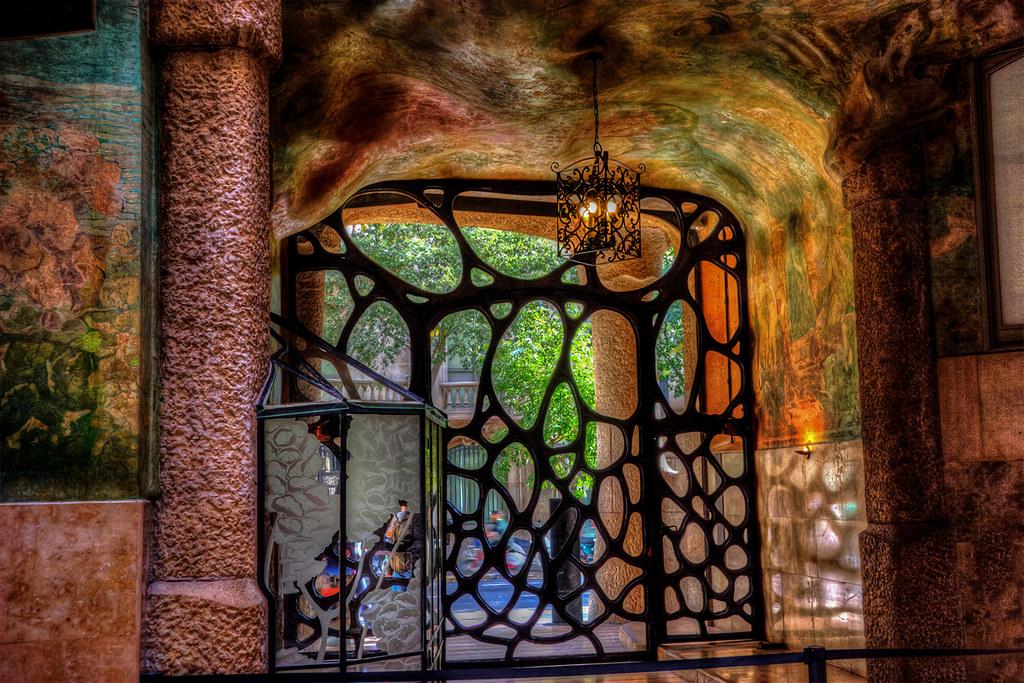 The gate to originality  Casa Mil  4 Antoni Gaud  Flickr