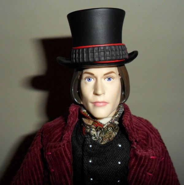 Johnny Depp Willy Wonka Close Medicom' Clo