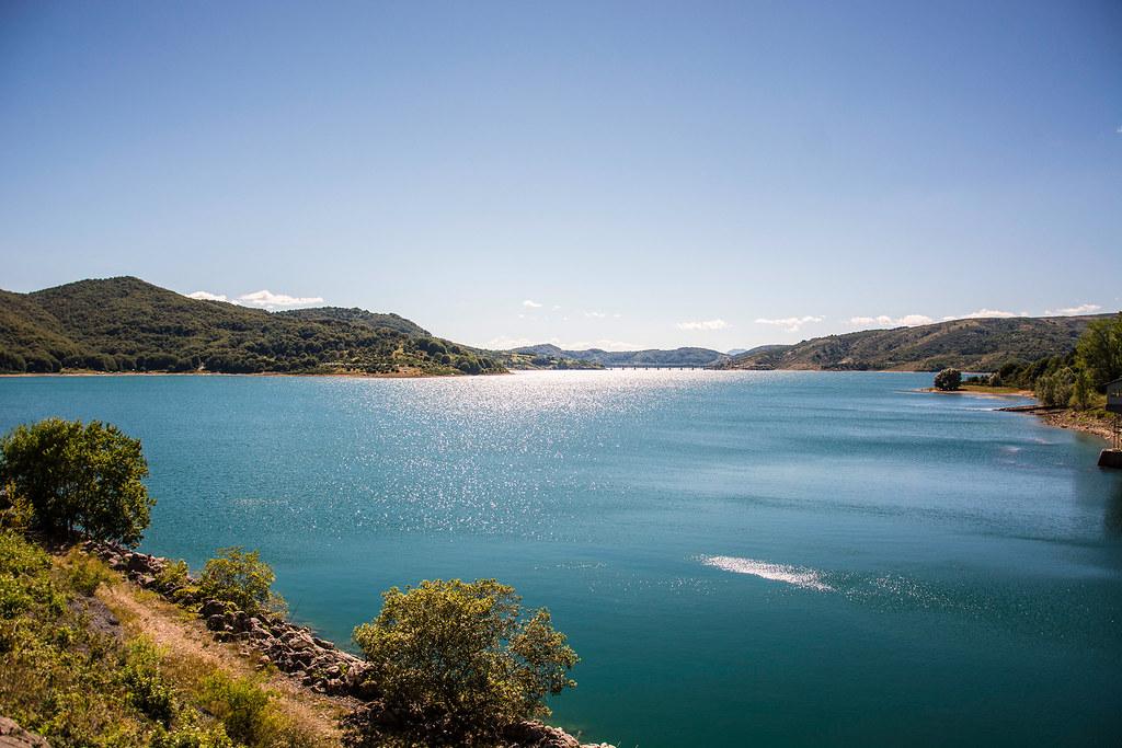 campotosto, Lago