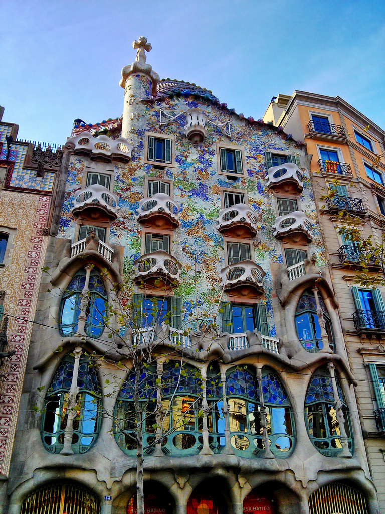 Casa Batll  Gaudi  Casa Batll built between 1904 and 19  Flickr