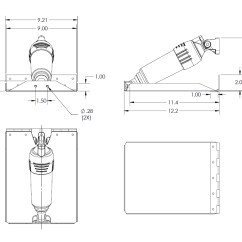 Lenco Trim Tabs Wiring Diagram Led Light Bar With Switch Tab Sizing Guidlines Bennett Marine Autos Post