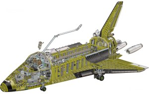 Soviet Space Shuttle Diagram | The Buran looks remarkably