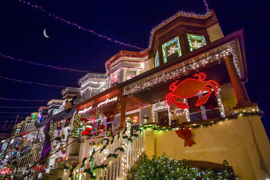 Miracle on 34th Street in Hampden  Baltimore Maryland