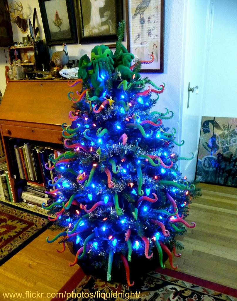 Cthulhumas II This Years Cthulhu Christmas Tree
