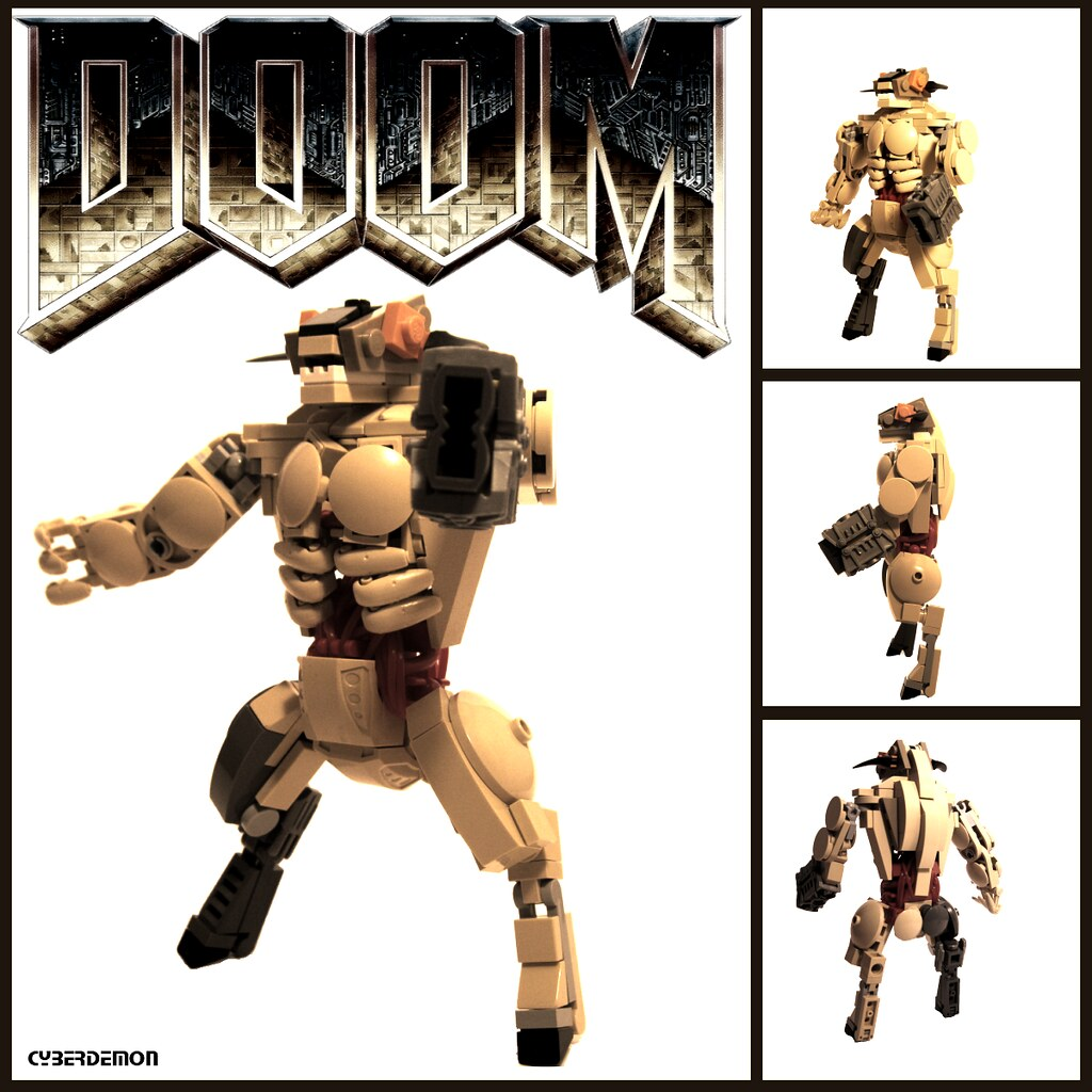 DOOM Cyberdemon  The biggest baddest video game boss of al  Flickr
