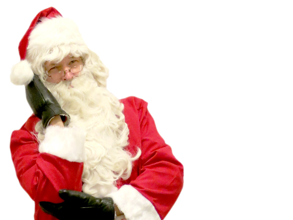 Santa Claus Ideal For An E Card Or Ordinary Paper
