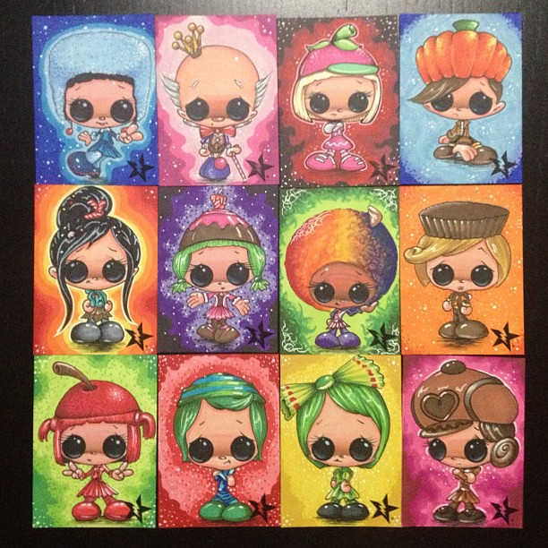 Sugar Rush Sketch Cards For Sale In My Store Wwwstores
