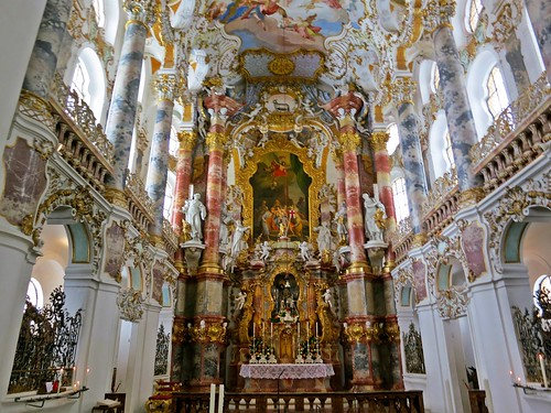Wieskirche Germany  The glittering interior is a glorious   Flickr