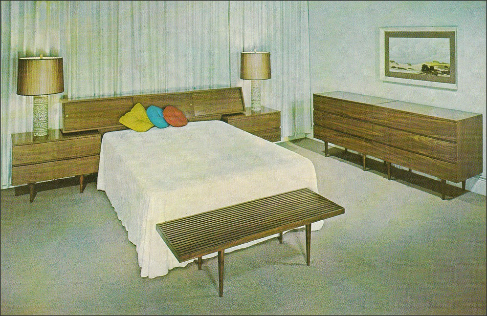 SmilowThielle bedroom suite NY 1960s  1950sUnlimited