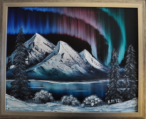 Northern Lights Bob Ross