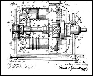 1911 Patent W. G. MACOMBER Axial Rotary Engine Pat'd Oct 2