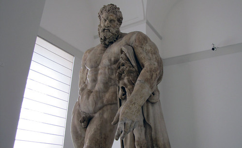 Lysippos Farnese Hercules looking up  Lysippos Farnese H  Flickr