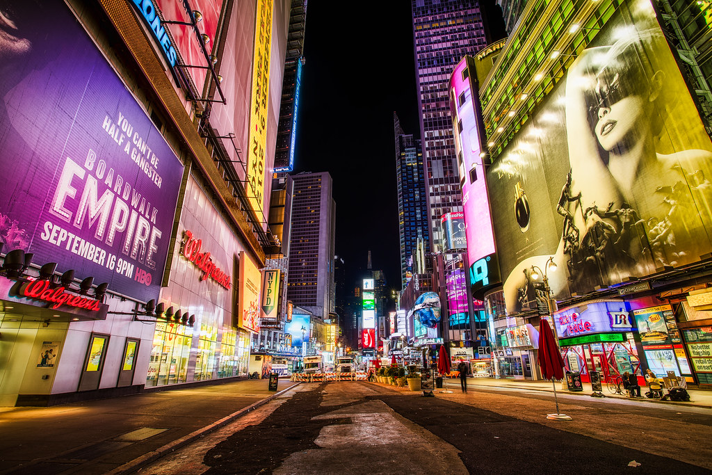 Billboards fit for New York  The turnover on