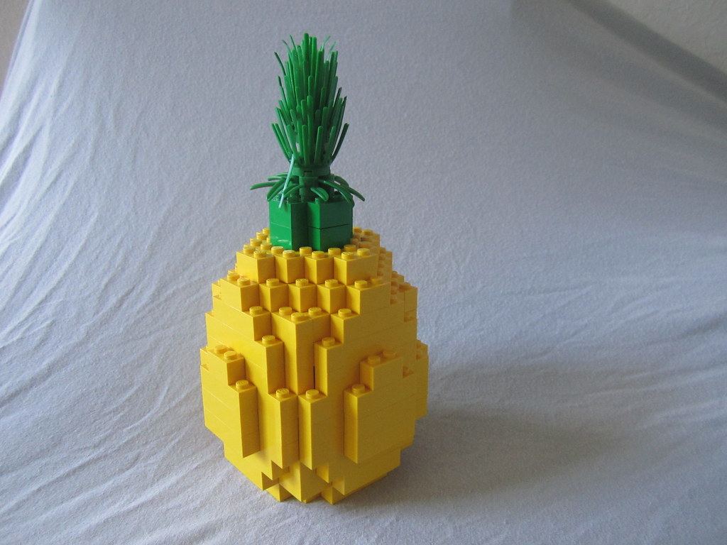 Lego Pineapple  Ah the pineapple the tropical fruit