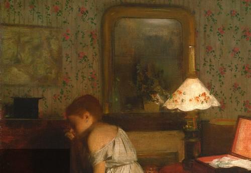 D  Edgar Degas  Interior also known as The Rape 186