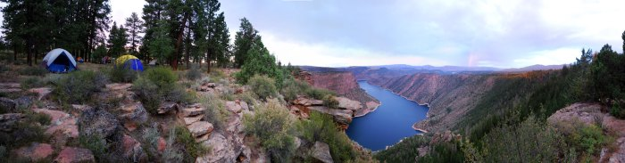 Canyon Rim Campground - photo by Kylir Horton