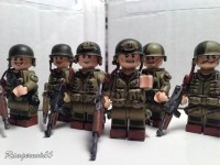 Lego Custom Minifigure WWII D-Day 101st and 82nd Airborne ...