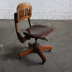 Sikes Chair Company Squirrel Feeder 19 Vintage Mahogany Windsor Style By Stunning Scuplted Walnut Industrial Swivel O