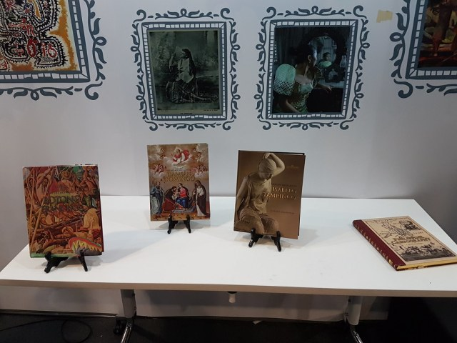 Viba;'s Filipiniana hardbound books on Botong Francisco, Damian Domingo, Isabelo Tampinco, and Philippine Cartography