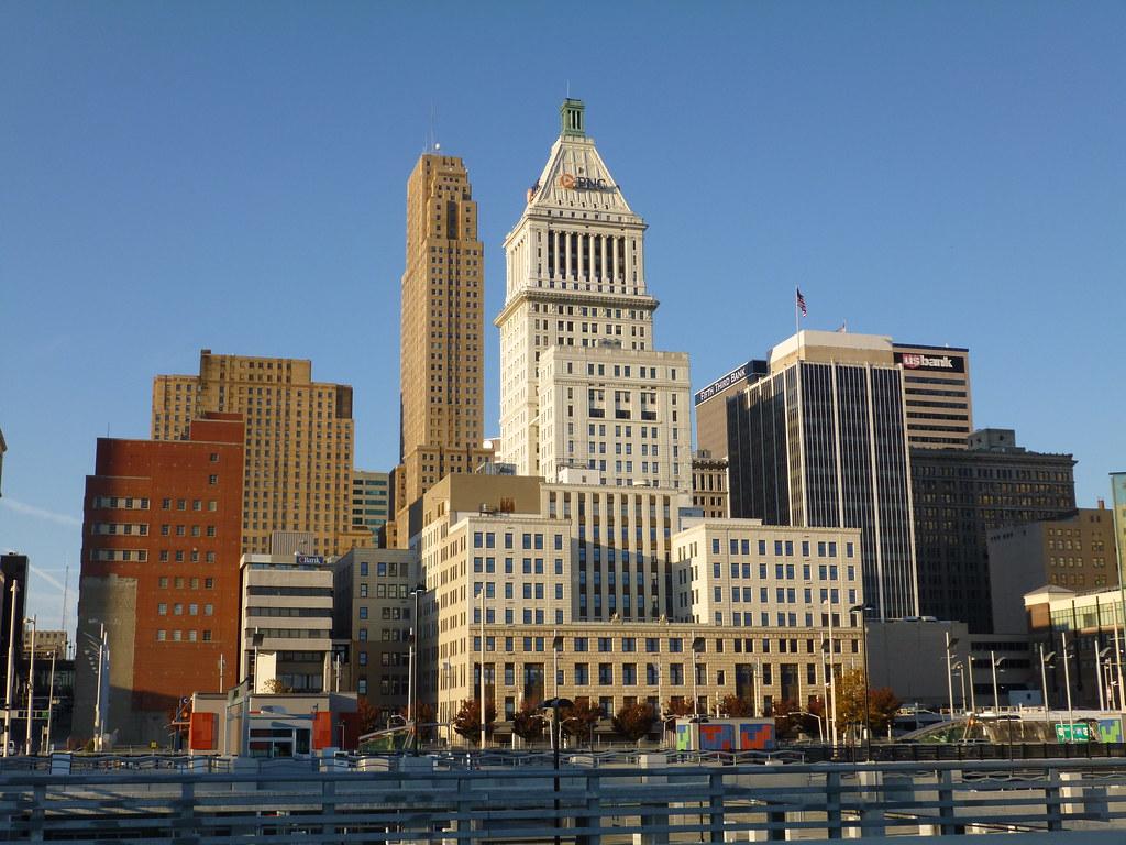 Cincinnati PNC Tower View Of Downtown Cincinnati With