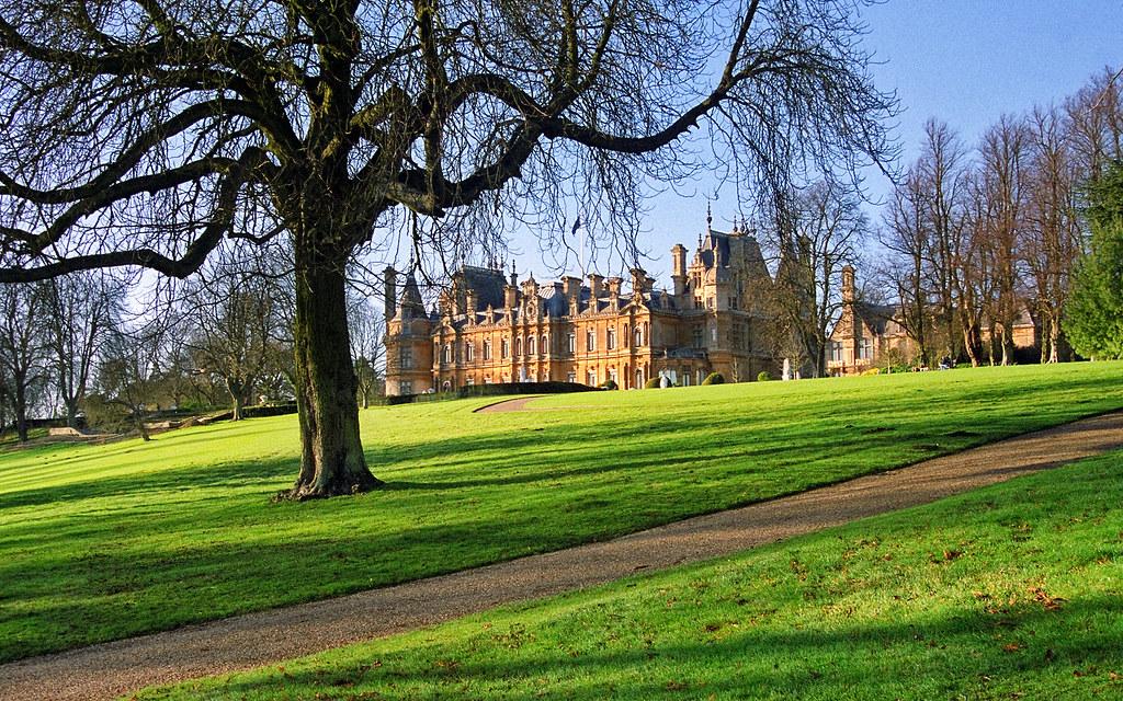 Waddesdon Manor Gardens Buckinghamshire England Nation