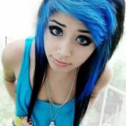 #scene #emo #girl #beautiful #hair