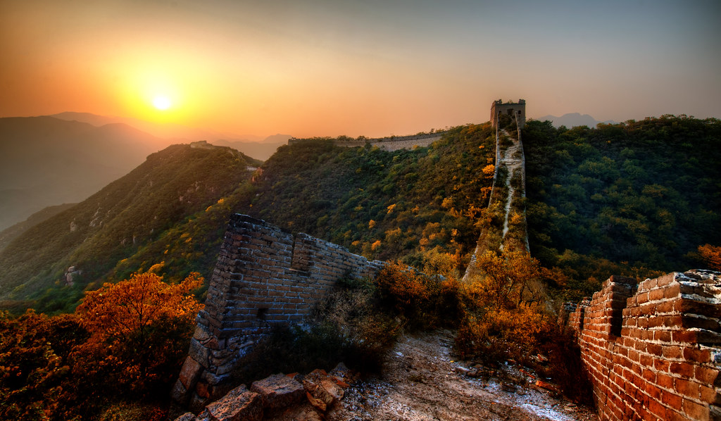 Chinese Dragon Wallpaper Hd The New Garden Path Along The Great Wall Of China Just