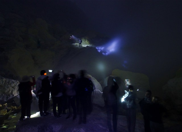 Blue Fire of Ijen Crater (Kawah Ijen)