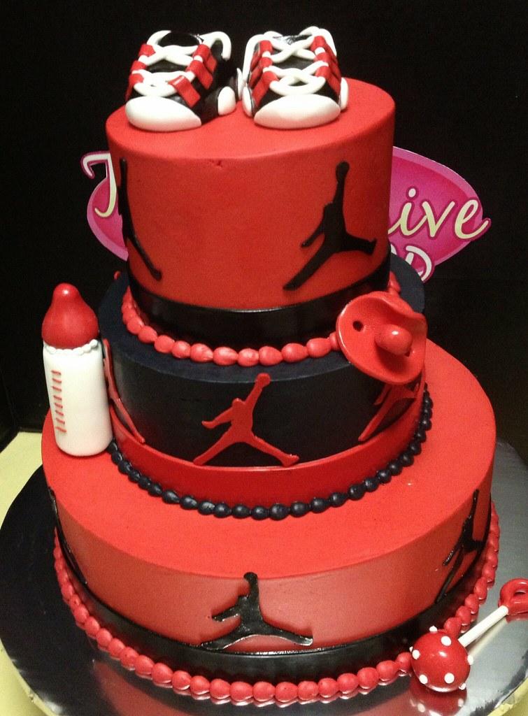 Jordan Baby Shower Cake Exclusive Cake Shop Flickr